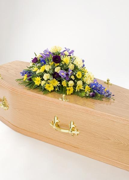 Funeral Spray in floral form