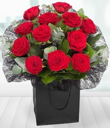 A Dozen Red Roses Gift Box*