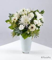 The White Collection Vase